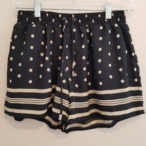 NWT Anthro Elevenses Striped Spotted Shorts